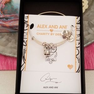 """Alex and Ani Owl Bracelet """"Charity by Design"""""""